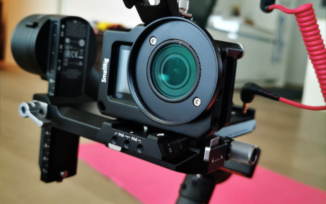 Dji RS2 with Dji Osmo Action